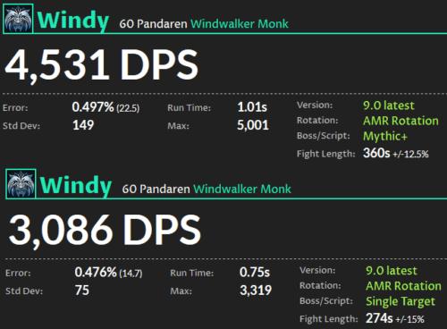 Windwalker Monk DPS Shadowlands