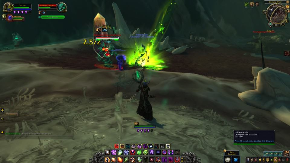 WoW Shadowlands Destruction Warlock