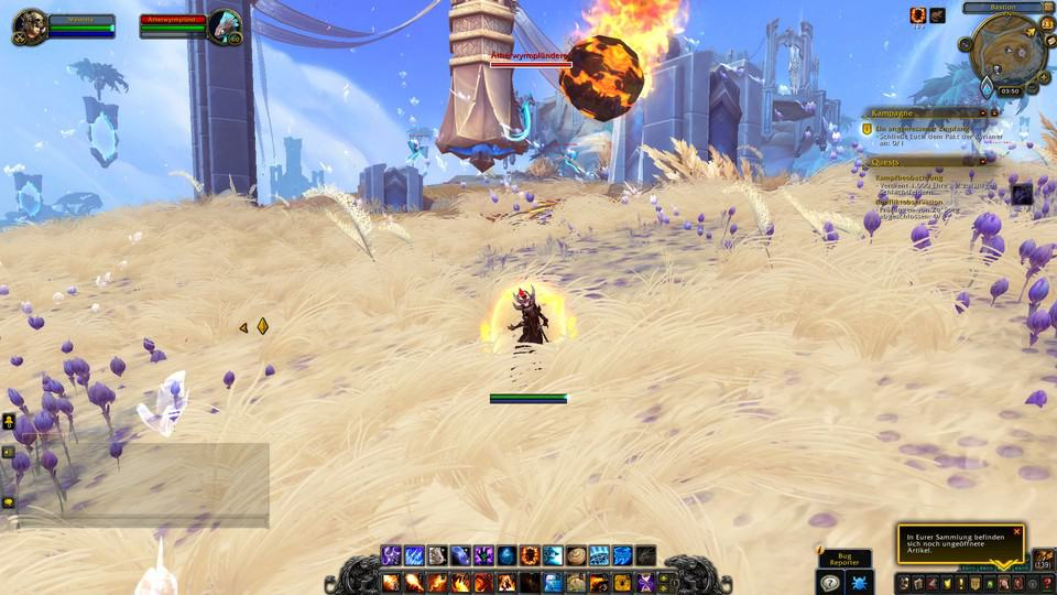 WoW Shadowlands Fire Mage