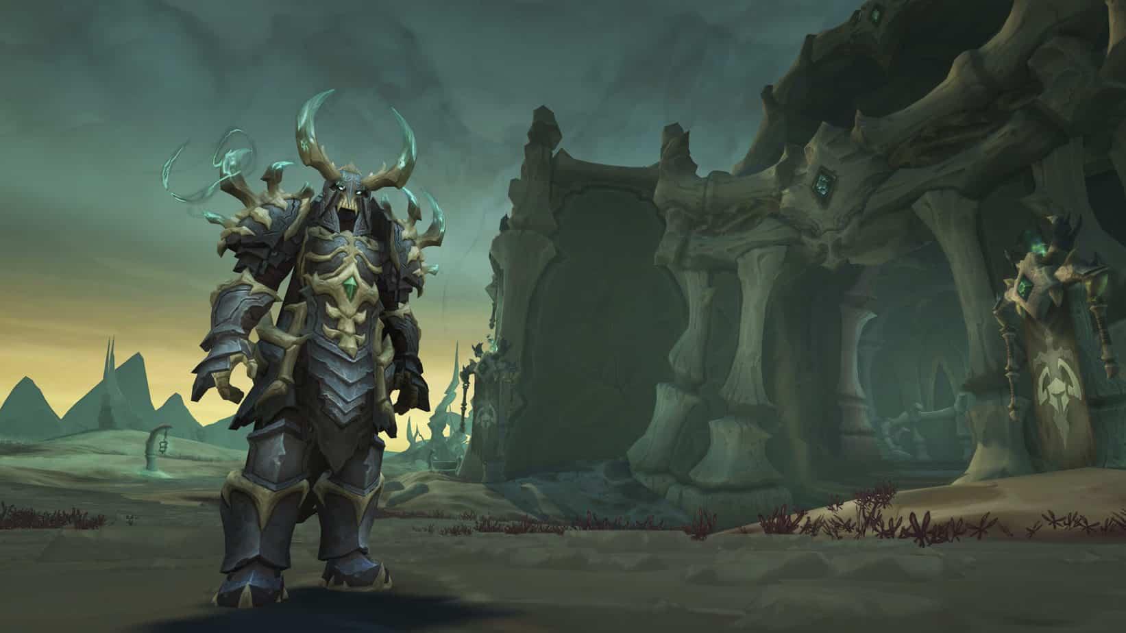 WoW Shadowlands Update