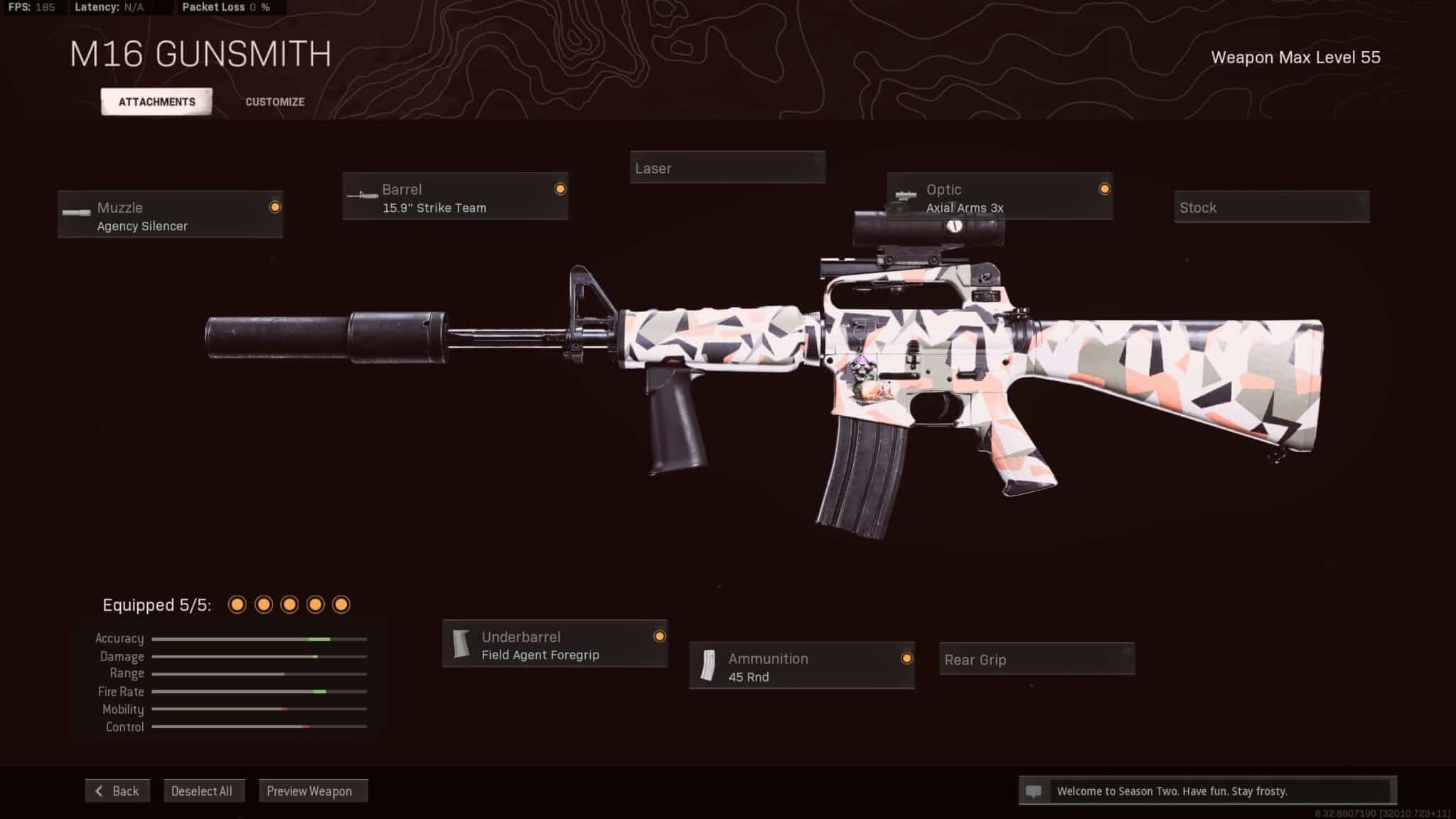 M16 Warzone Call of Duty