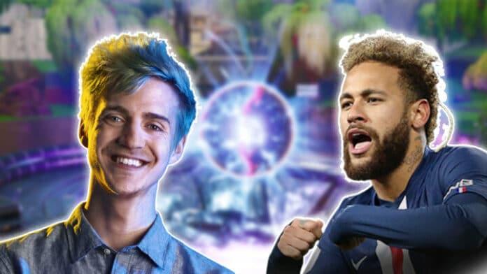 Neymar Ninja Fortnite Event
