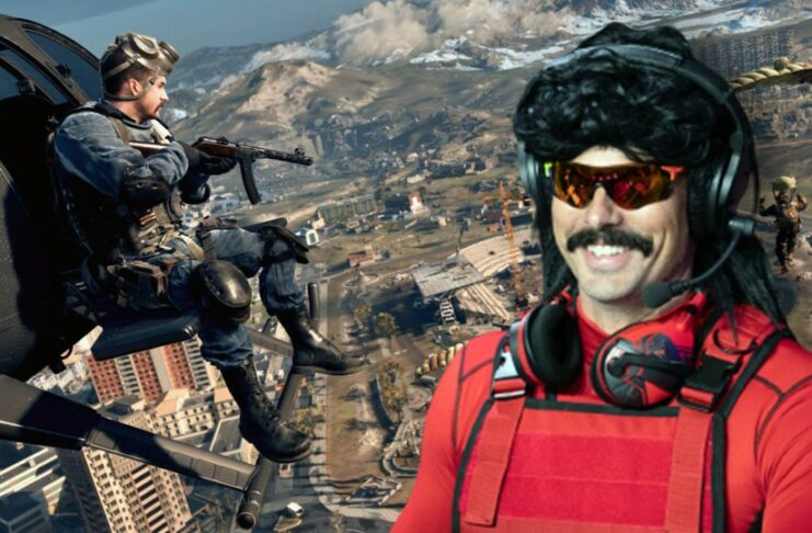 Call of Duty warzone Dr.Disrespect
