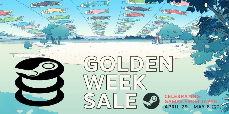 Golden Week é suposto trazer muitos descontos em JRPGs e co. Fonte da imagem: steamdb.info