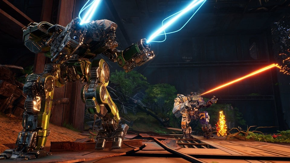 S Legendou o Kestrel Lancers získává MechWarrior 5 novou příběhovou kampaň, nové biomy a v rámci bezplatné aktualizace poprvé v sérii i skutečný boj zblízka.