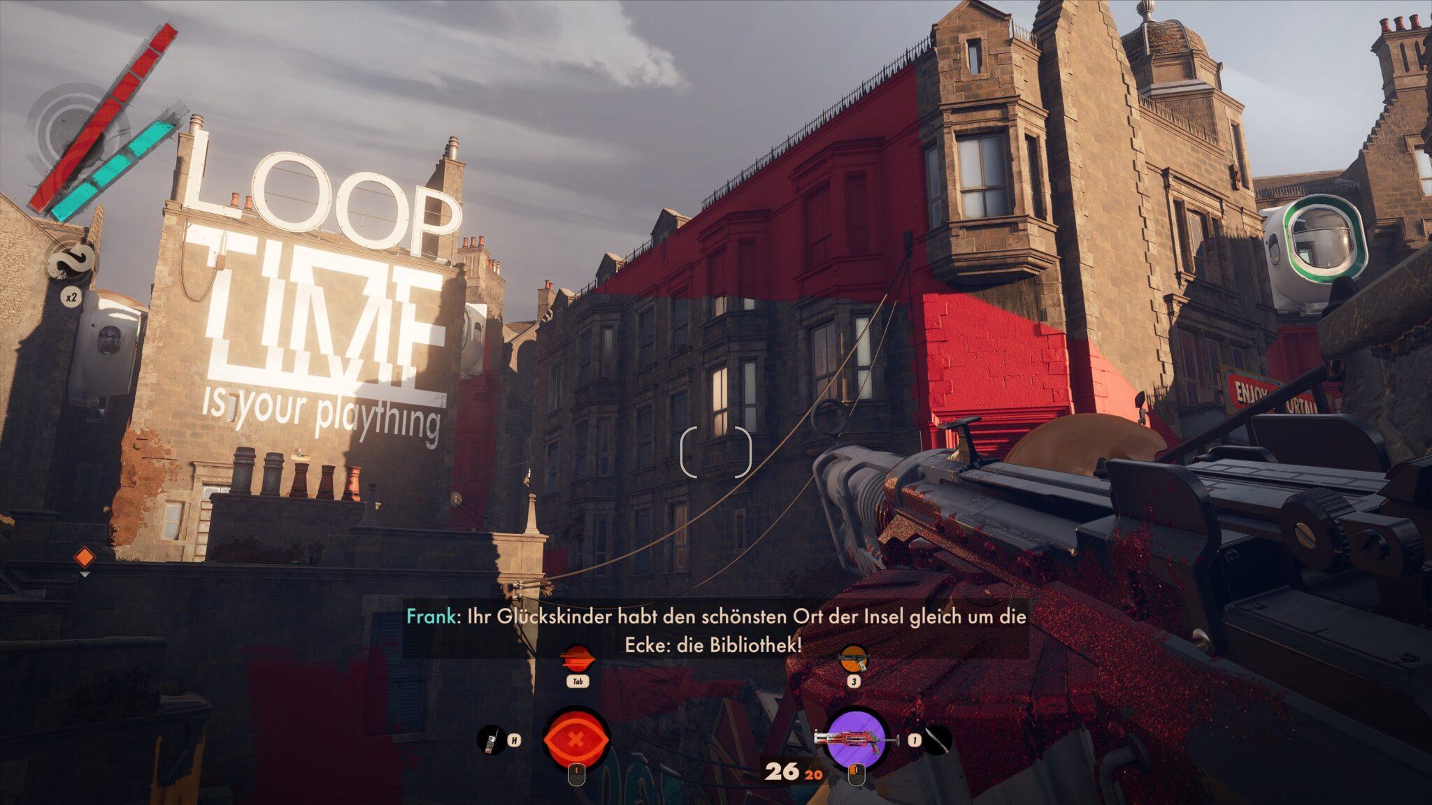 De Deathloop ontwikkelaars kunnen een meesterlijk level ontwerp maken. Alleen de next-gen sfeer wil niet echt naar boven komen