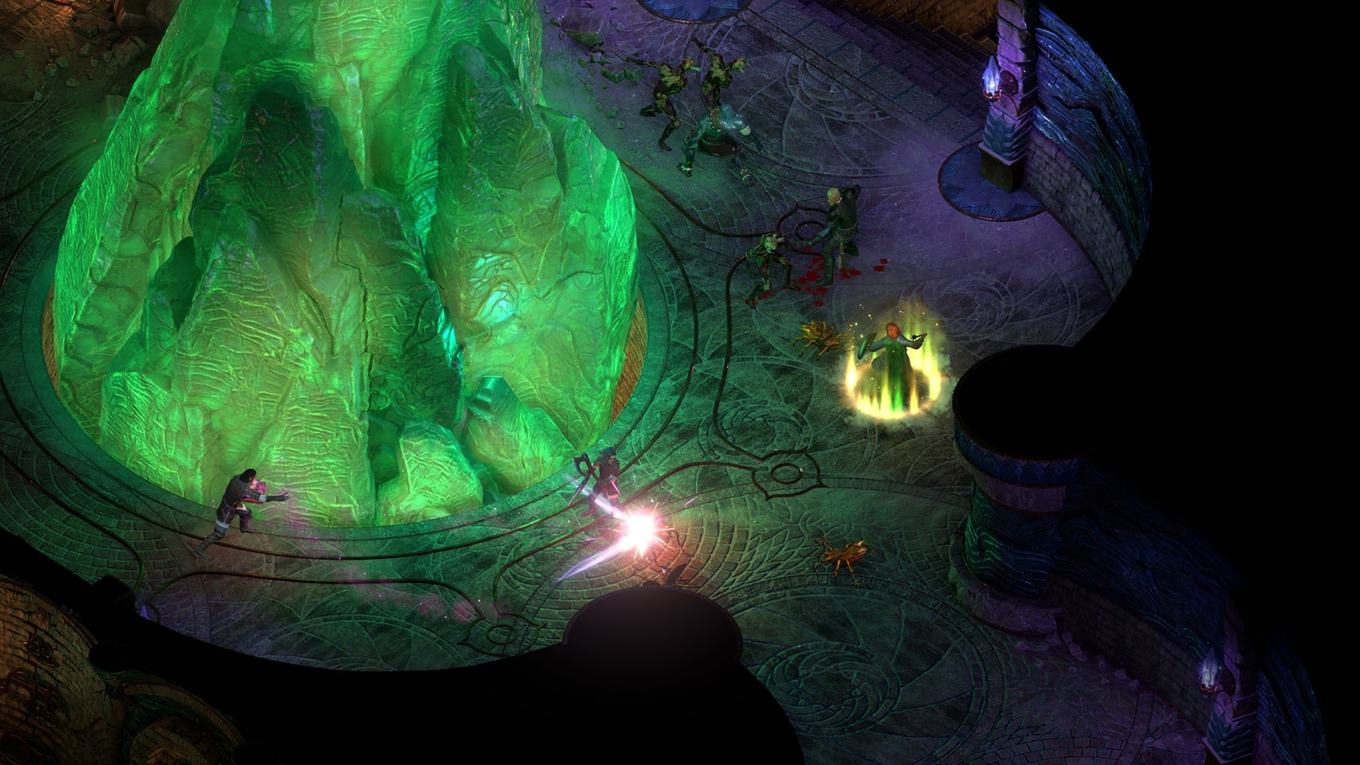 The bright green Adra not only looks imposing, but also holds a lot of power.